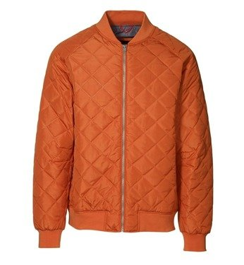 Casual Catalina men's jacket Dark orange