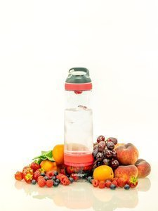 Bottle with fruit insert Contigo Cortland 770ml - Watermelon