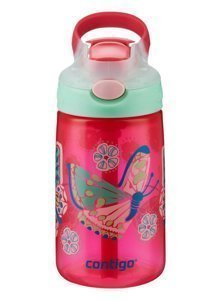 Children's bottle - Contigo Gizmo Flip 420ml children's mug - Sprinkles Butterfly White